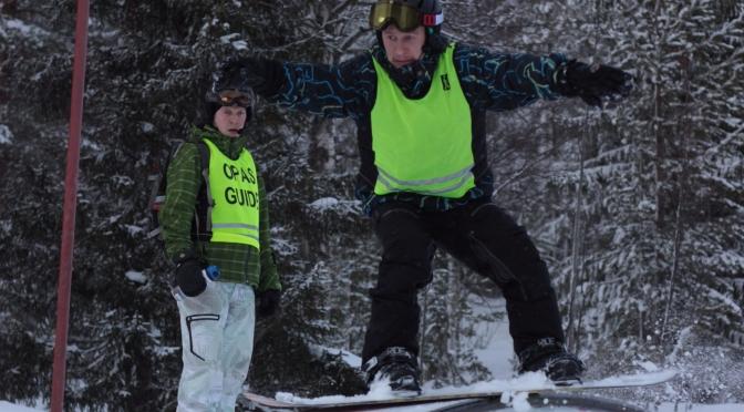 Miika Honkanen – Intohimoinen näkövammainen lumilautailija
